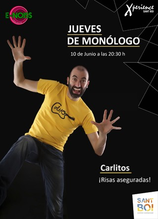10 Junio: #JuevesDeRisa con Carlitos