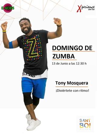 13 de junio: #DomingodeZumba con Tony Mosquera en Xperience