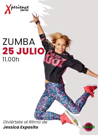 25 de Julio: #DomingodeZumba con Jessica Exposito en Xperience