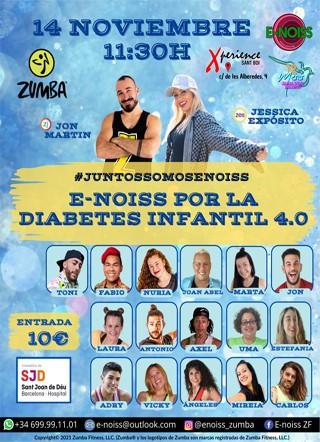 14 de Noviembre: Domingo de Zumba solidario por la Diabetes Infantil en Xperience