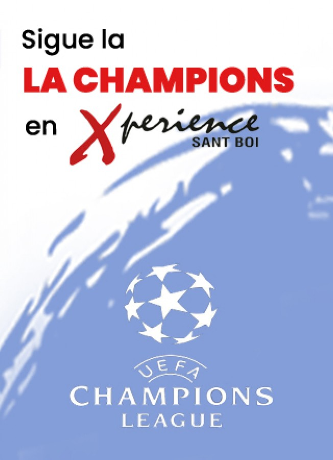 Vive la Champions de fútbol en Xperience Sant Boi