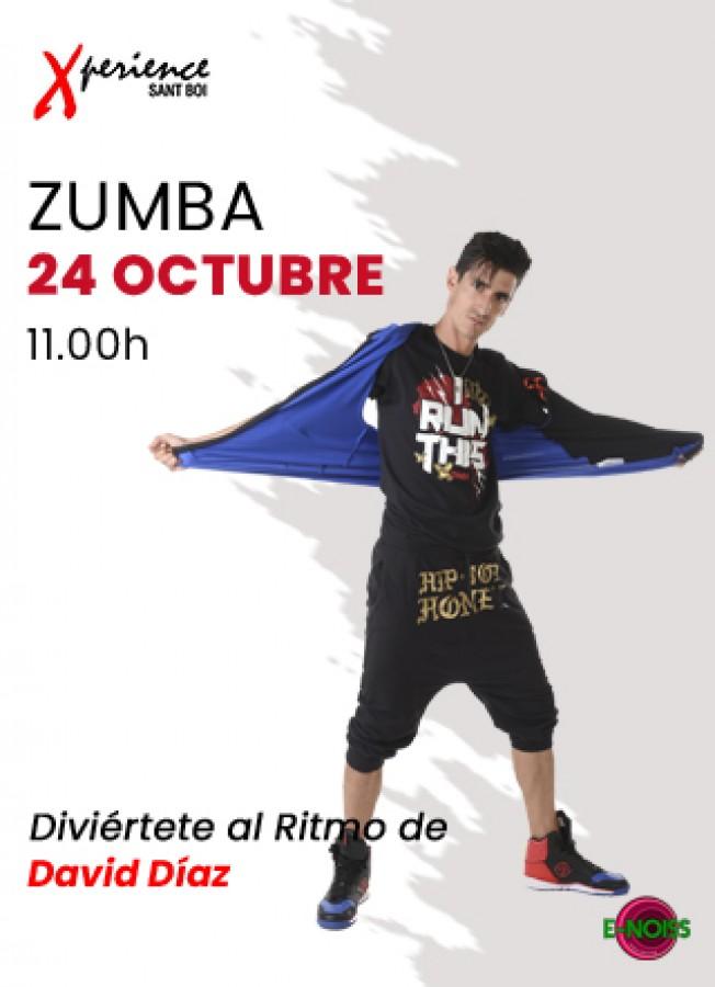 24 de Octubre: #DomingodeZumba con David Díaz en Xperience